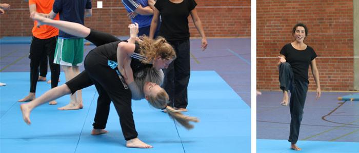 Sylvia De Rosa - Ringen und Kämpfen an der Sporthochschule Köln
