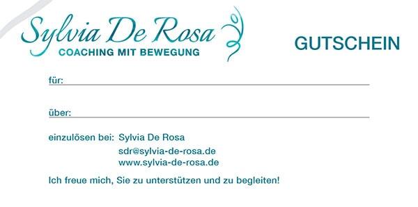 Sylvia De Rosa - Coaching-Gutscheine