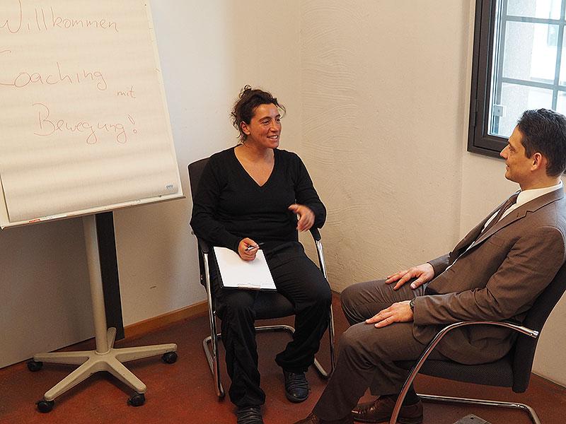 Sylvia De Rosa - Coaching mit Bewegung